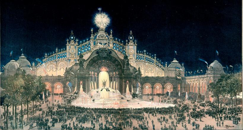 Palace of Electricity, Exposition Universelle, Paris (1900).