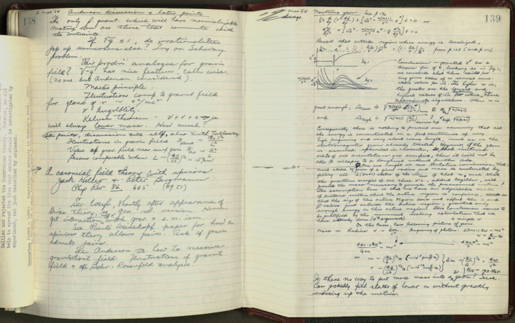 RGBlum_american_philosophical_society_philadelphia_john_archibald_wheeler_papers_series_v._notes_and_notebooks_volume_40_relativity_notebook_2_1953-1954._p3.png