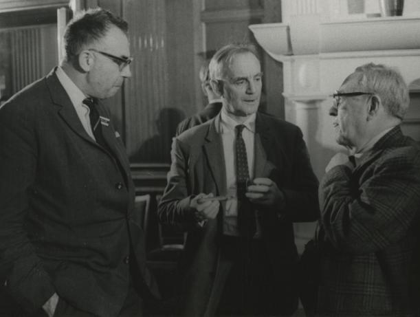 Ivan Malek, C.F. Powell and Eugene Rabinowitch