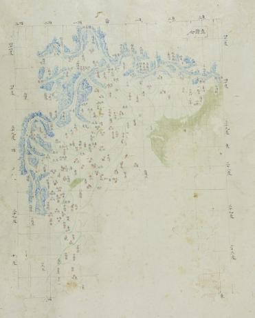 Province Zhili, one of the maps on the scroll