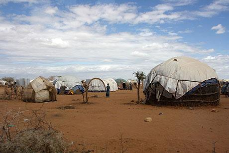 Dadaab Refugee Camp, Kenya. The largest refugee camp in the world home to more than 300,000 people is currently slated to be closed by the Kenyan government (Wikimedia Commons).