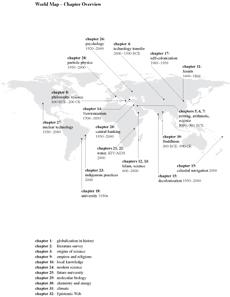 Overview of the chapters of The Globalization of Knowledge in History (Berlin: Edition Open Access, 2012).