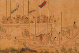 Ming Victory over Japanese Pirates Scroll