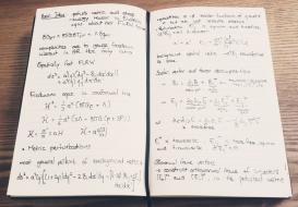 Notes on cosmological perturbation theory