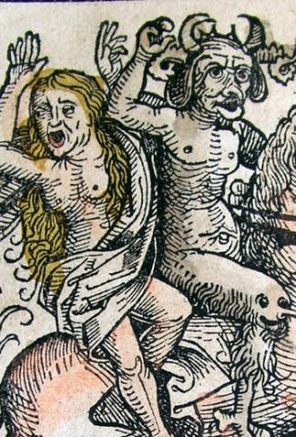 Illustrations from the Nuremberg Chronicle, by Hartmann Schedel (1440-1514)