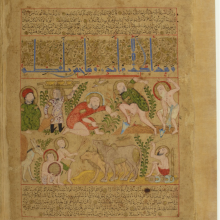 Sabraa_Project_Peasants in the Mamluk period_Bibliothèque nationale